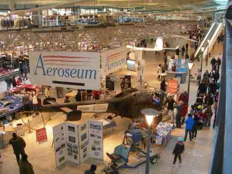 Aeroseum i Nordstan. Lördag 9 mars 2013 kl 16.13.