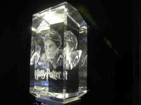 Harry Potter hos Chrystal Memories. Östra Larmgatan lördag 19 januari 2013 kl 19.32.