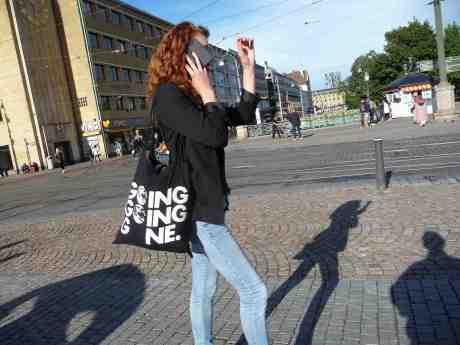 Rita Hayworth var världens bästa dansös. Här ses hon i Göteborgsupplaga på Fontänbron. Tisdag 13 augusti 201 3 kl 17:54.