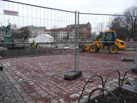 Bältespännarparken snart färdigmakad? Fredag 14 februari 2014 kl 14:52.